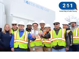 United Way of Lake County's 211 program staff